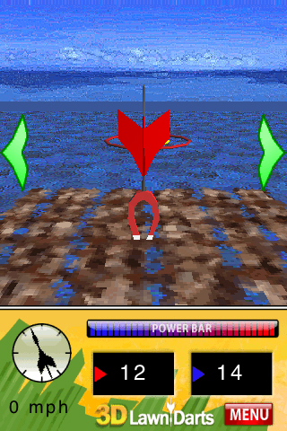 Screenshot 3D Lawn Darts