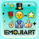 emoji 2 emoticon art ...